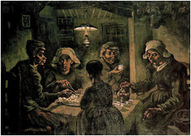 Van Gogh The Potato Eaters painting
